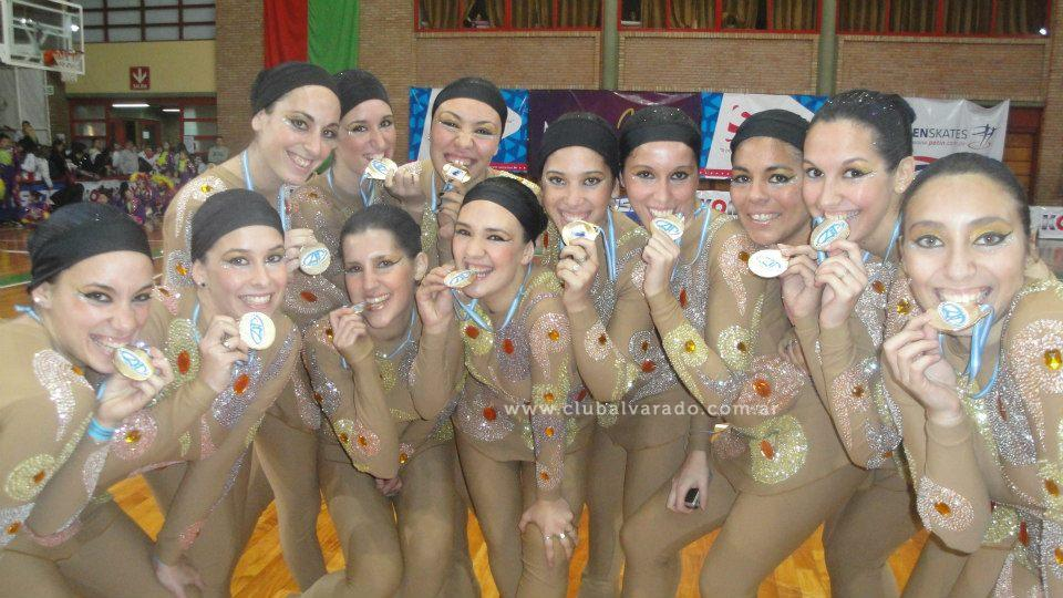 Patin: Campeonas del Argentino Show