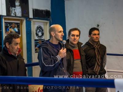 Alvarado inauguró su gimnasio de Kickboxing y Boxeo