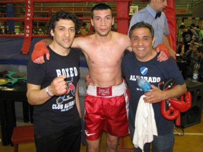 Nico Vargas con Villalobo