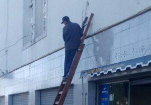Alvarado se sigue modernizando: arrancaron las obras en el frente