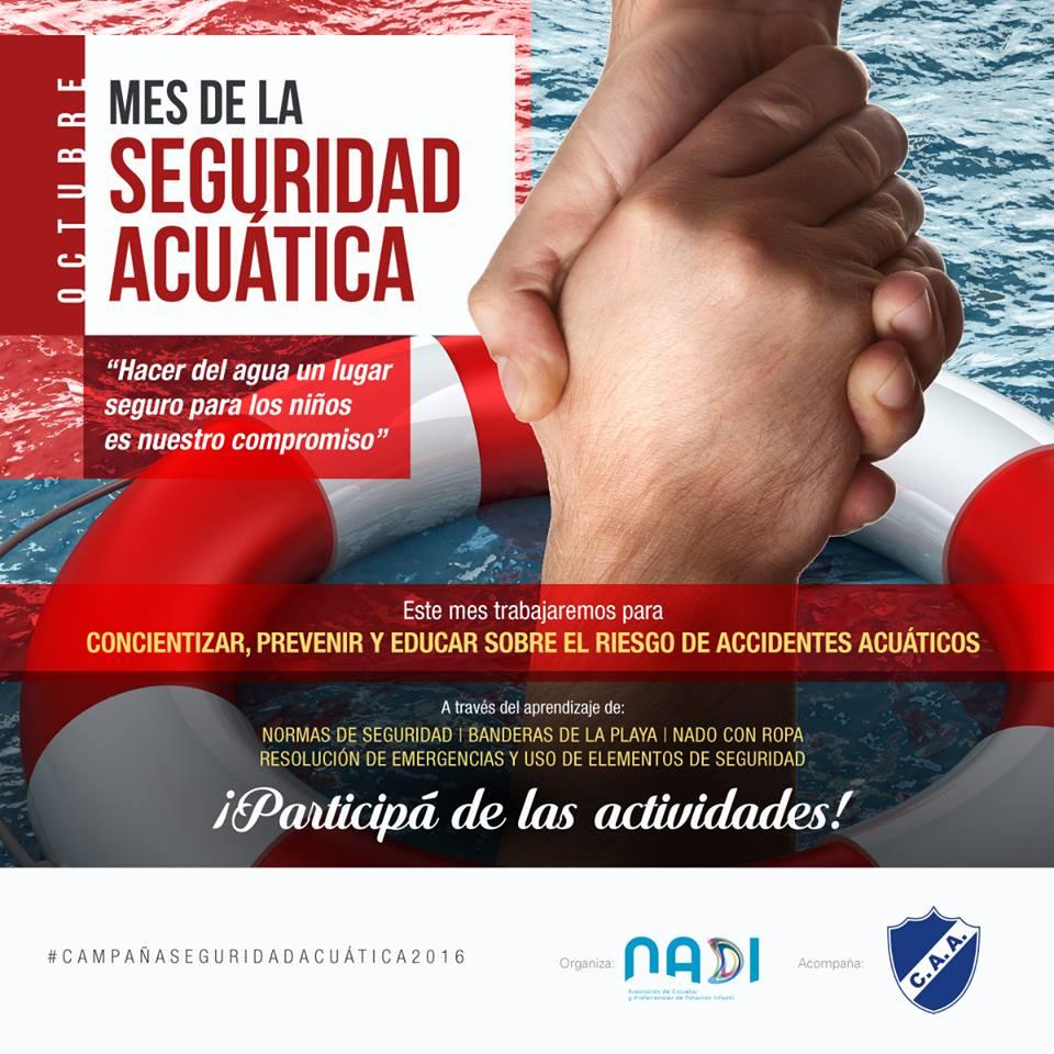 Se presenta la declaración de Interés de la Campaña de Seguridad Acuática