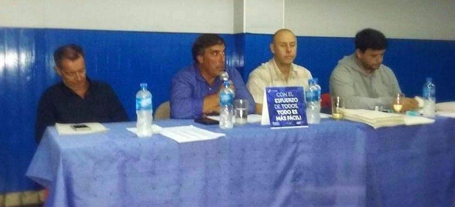 Alvarado realizó la Asamblea y se aprobaron los balances