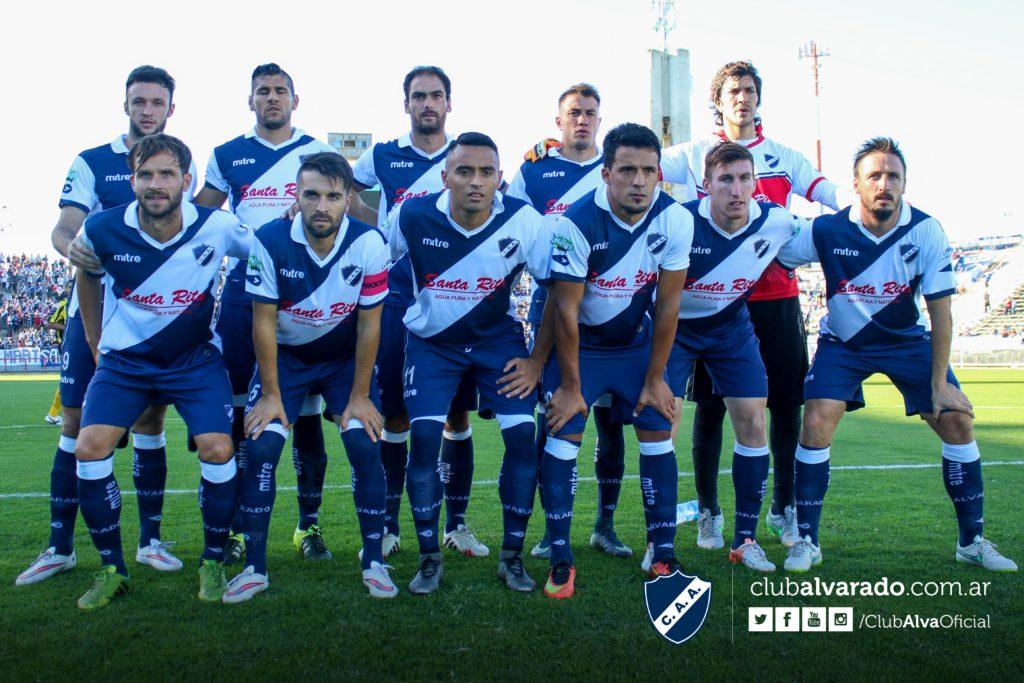 Alvarado concentra para la revancha de Copa Argentina