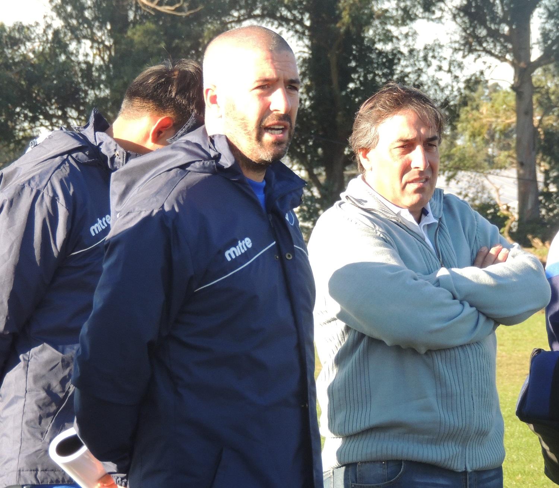 Mauricio Giganti dirigió su primera práctica en Alvarado