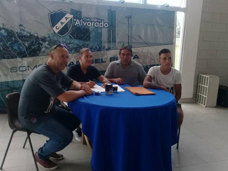 De Alvarado a La Boca: Agustin Sánchez empieza a vivir un sueño