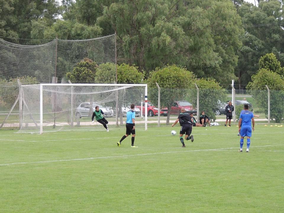 Alvarado tuvo su primera prueba ante San Martín de San Juan