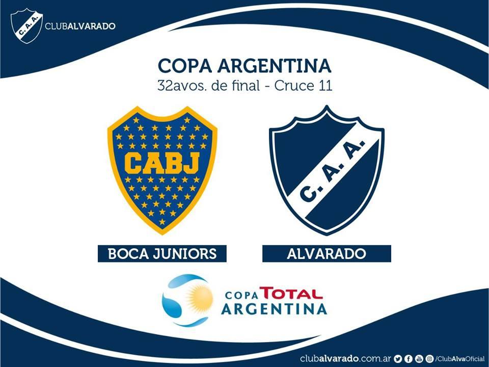 Un choque histórico: Alvarado enfrentará por primera vez a Boca Juniors