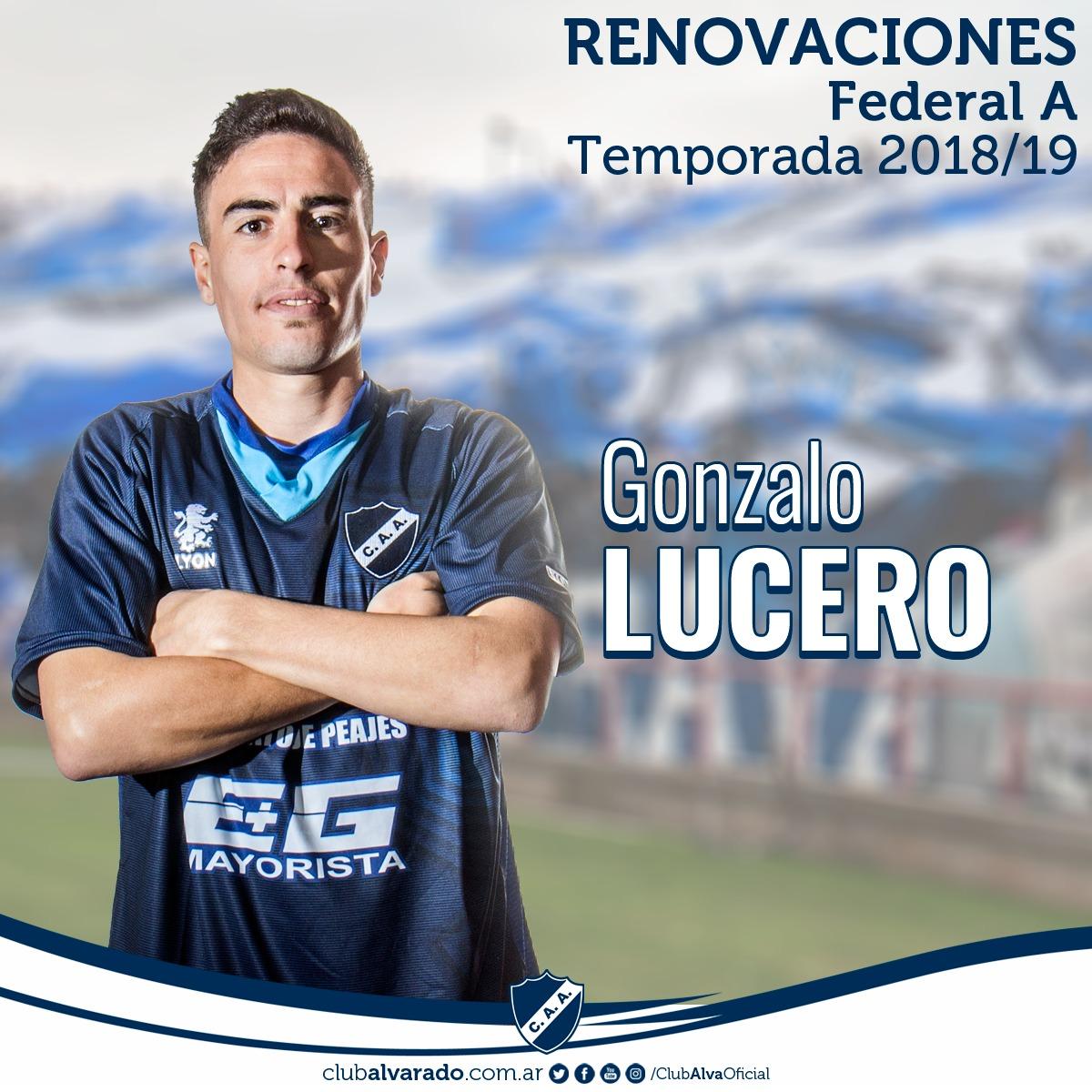 Gonzalo Lucero, una continuidad muy esperada en Alvarado