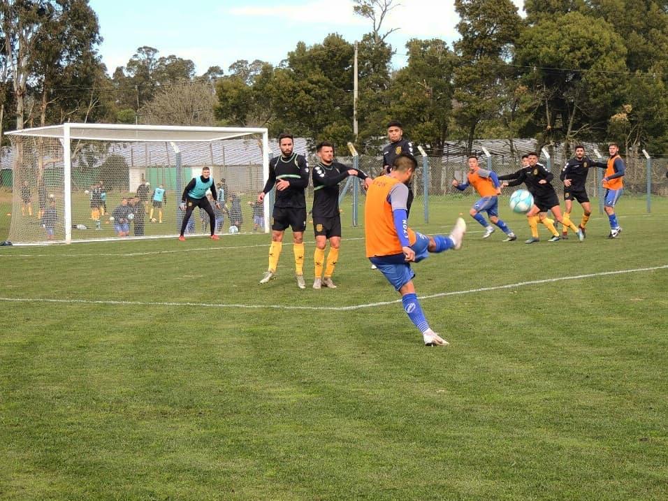Un empate y una goleada en los amistosos ante Olimpo