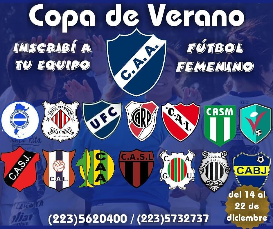 Fútbol Femenino: Inscribite en la Copa de Verano