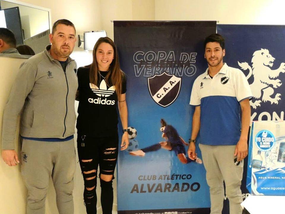 Presentación Oficial: Copa de Verano de fútbol femenino C.A. Alvarado