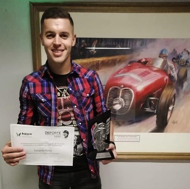 Premio Fangio de Plata para Fernando Ponce