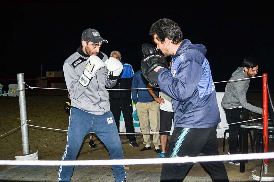 Boxeo: K.O. de Matías Rueda