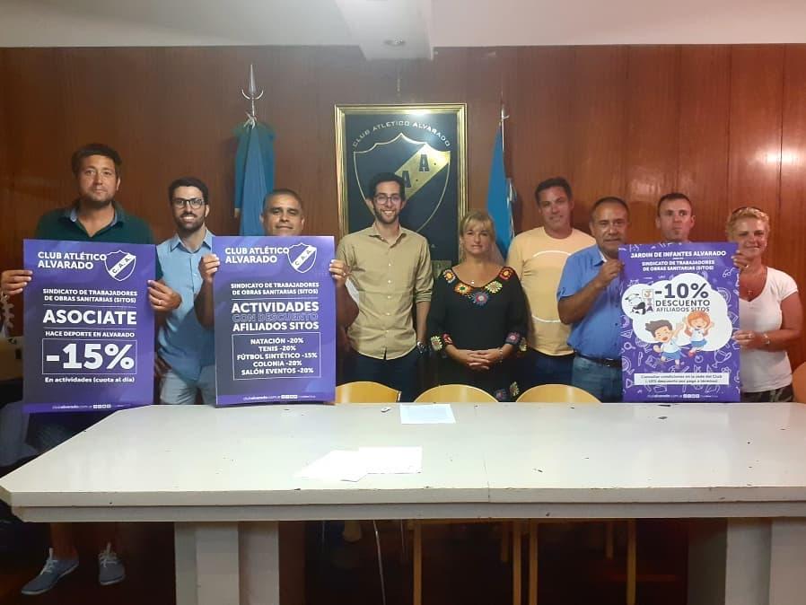CONVENIO CON EL SINDICATO DE TRABAJADORES DE OBRAS SANITARIAS