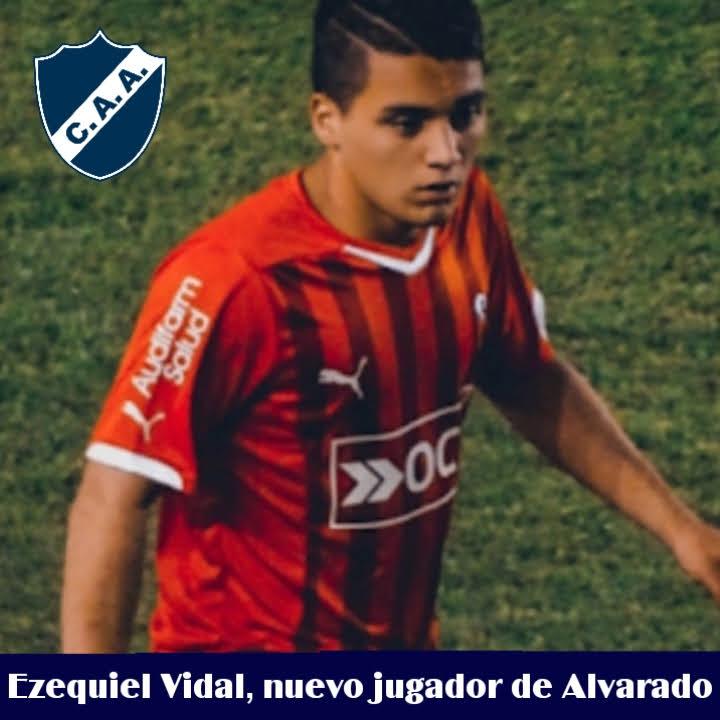 Ezequiel Vidal, el nuevo refuerzo para el plantel profesional