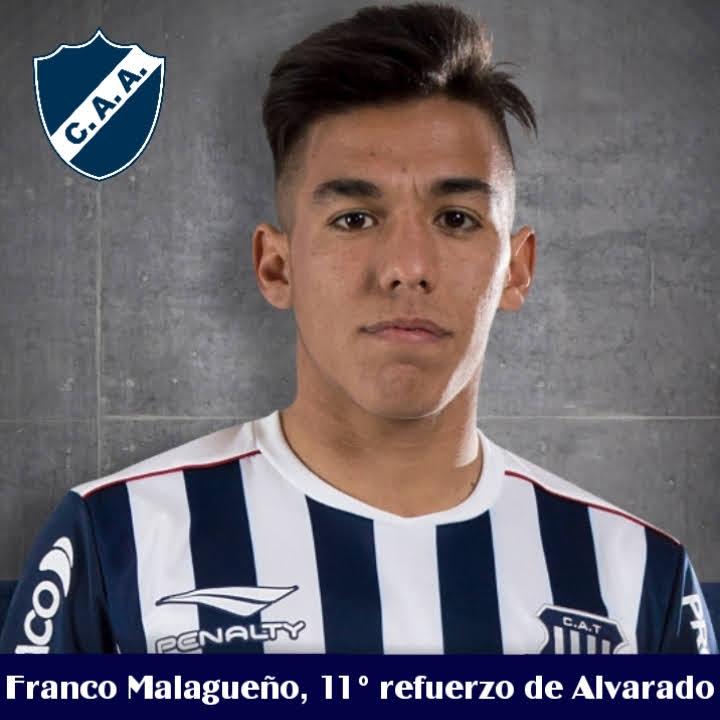 Franco Malagueño es el 11° refuerzo de Alvarado