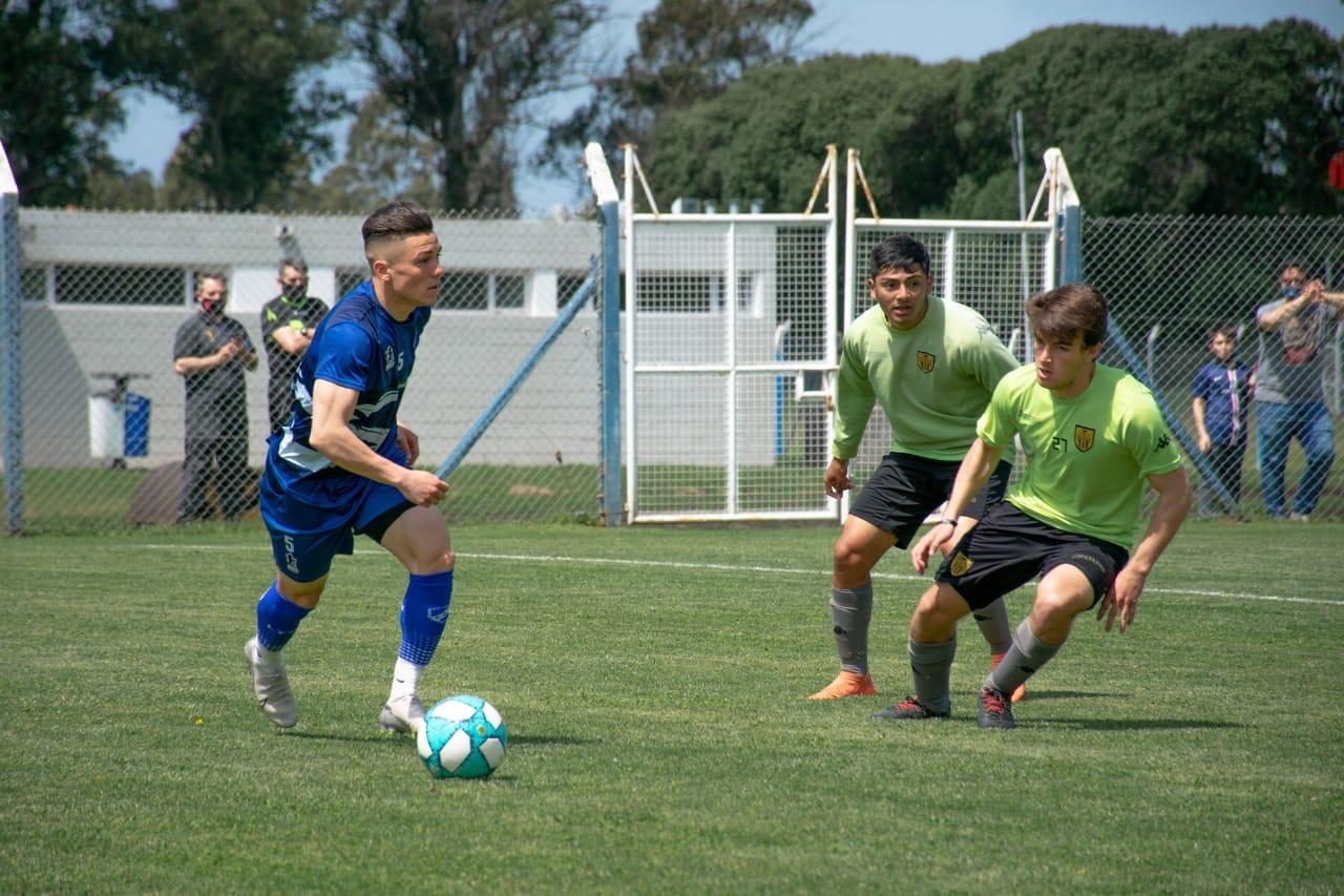 Hicimos fútbol con Santamarina de Tandil