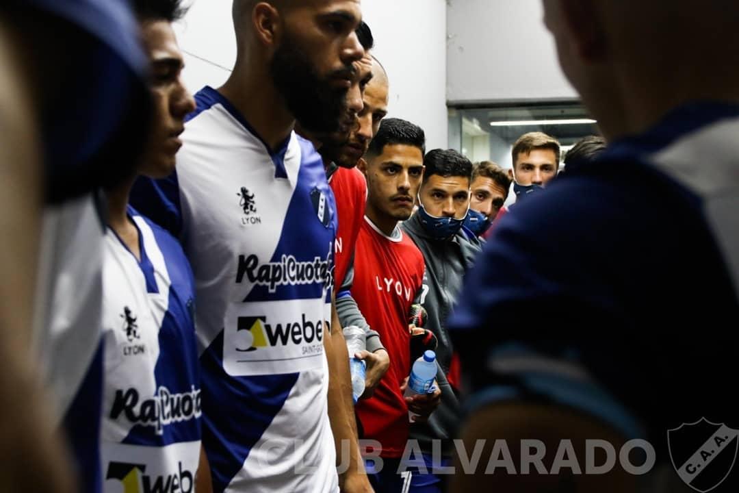 Alvarado tuvo anoche su debut en el Campeonato Transición Primera Nacional 2020