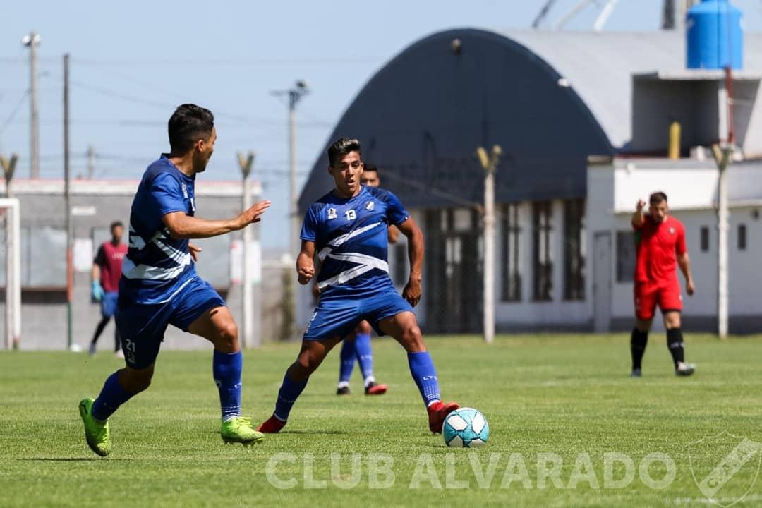 Alvarado se entrenó junto a Círculo Deportivo