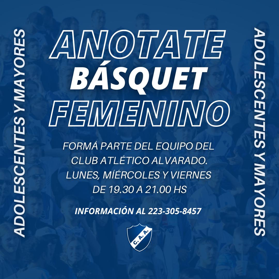 BÁSQUET FEMENINO