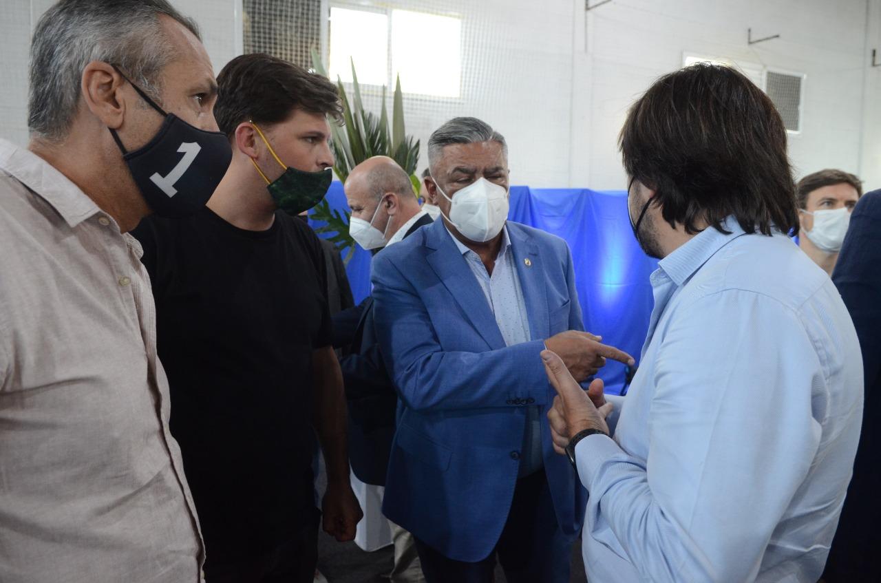 Alvarado: centro de vacunación contra el Covid-19