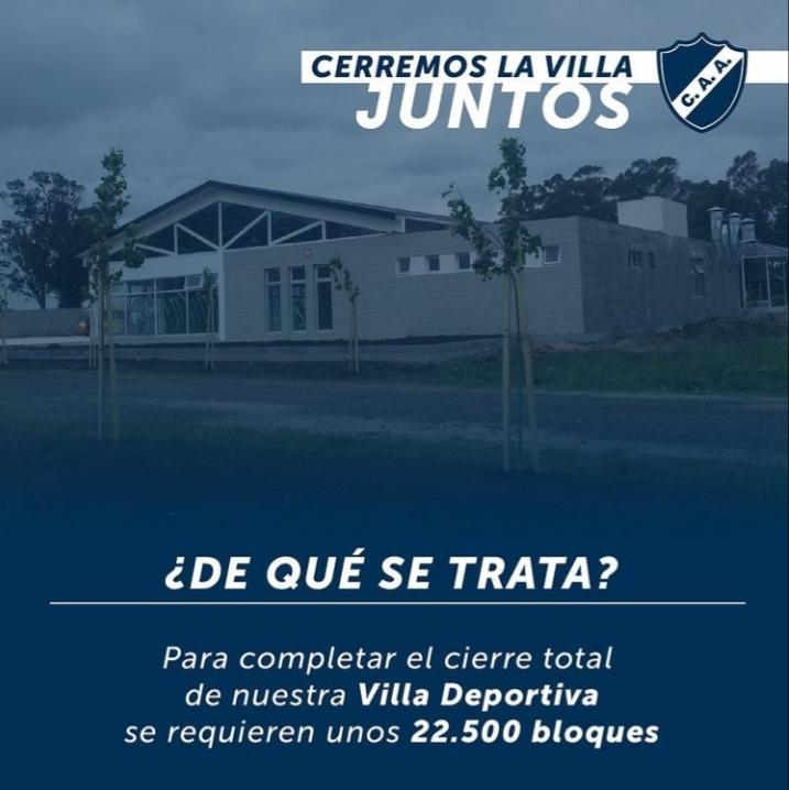 """""""Cerremos la Villa juntos"""""""
