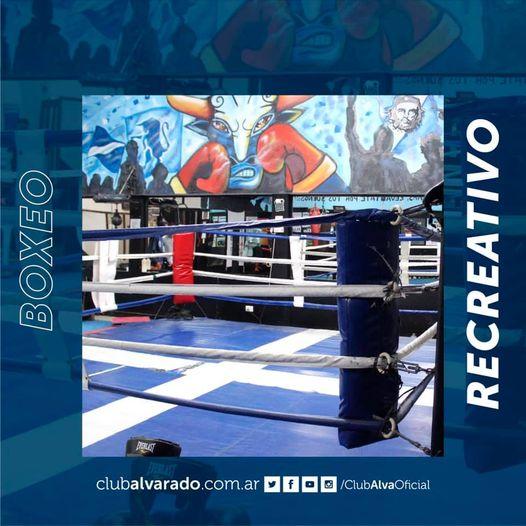 Boxeo Recreativo: Nuevo Horario